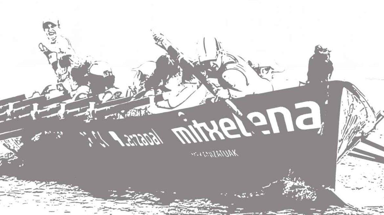 Mitxelena sponsorisera le club d'aviron féminin d'Hernani