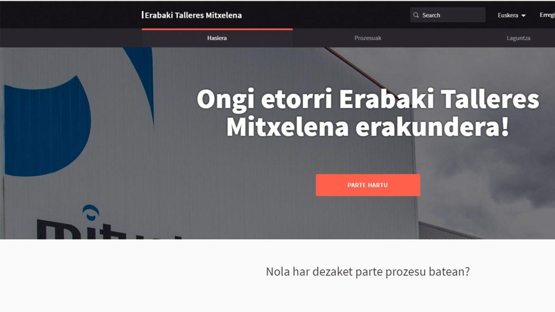 Decidim: Parte hartze plataforma birtuala